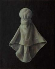 bruised angel (2005) oil on linen, 40 x 30cm
