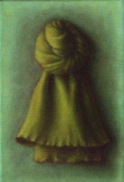 green darling (2004) oil on linen, 30 x 20cm