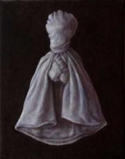 martyr (2005) oil on linen, 40 x 30cm