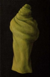poet (2006) oil on linen, 40 x 26cm