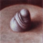 unacknowledged (2003) oil on linen, 20 x 20cm