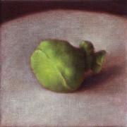 unspoken (2003) oil on linen, 20 x 20cm