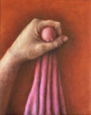 getting closer to a meaning (2002) oil on linen