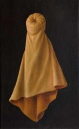 super model (2005) oil on linen, 40 x 26cm